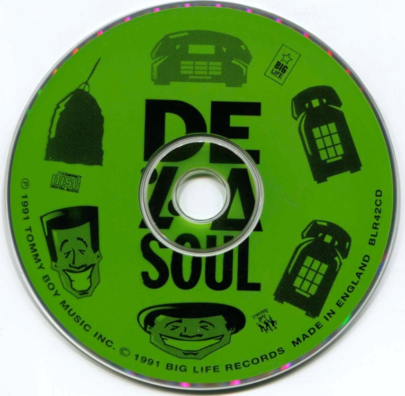 De La Soul Ring Remix CD