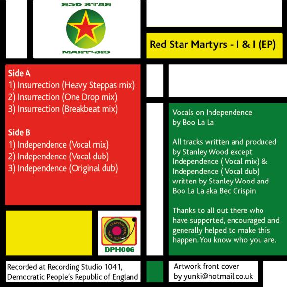 Red Star Martyrs - I & I (back)